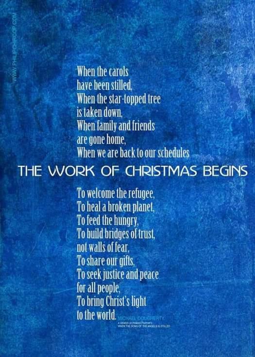 Photo Christmas work poster