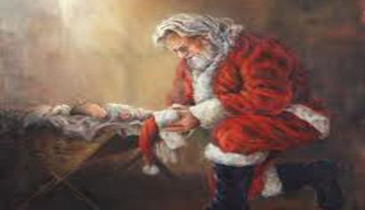 Photo Santa-and-Jesus